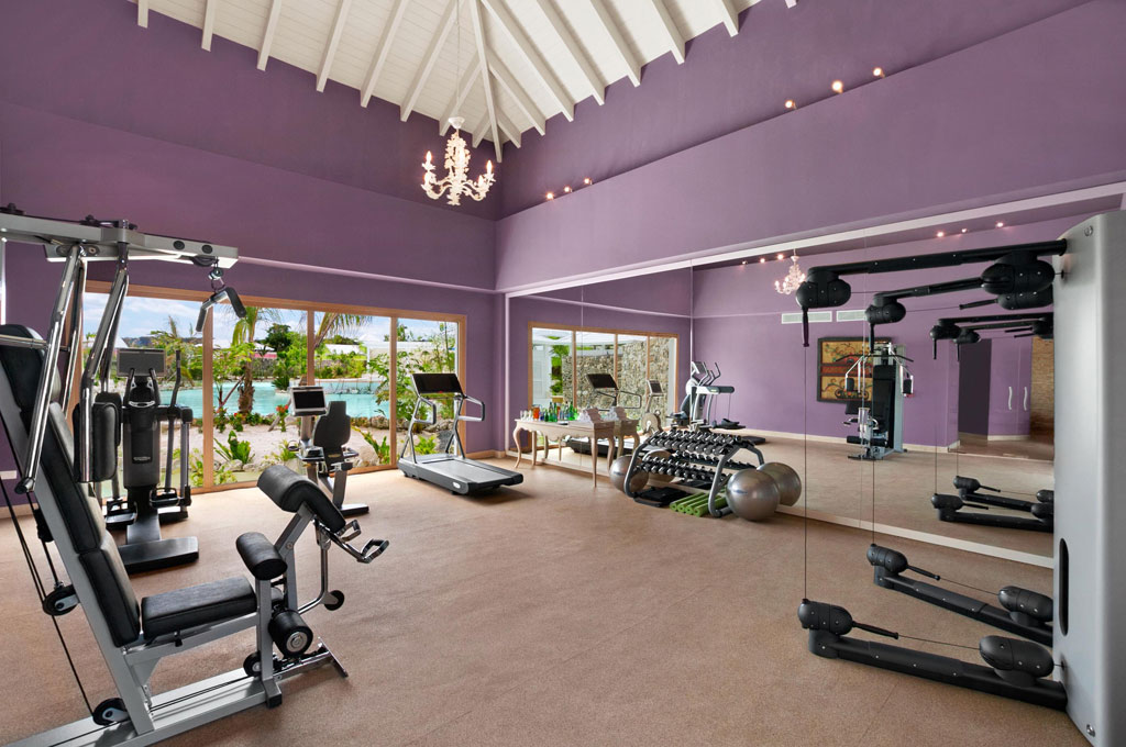 Fitness Studio with Tech Gym Equipment, Eden Roc at Cap Cana, Punta Cana, Dominican Republic
