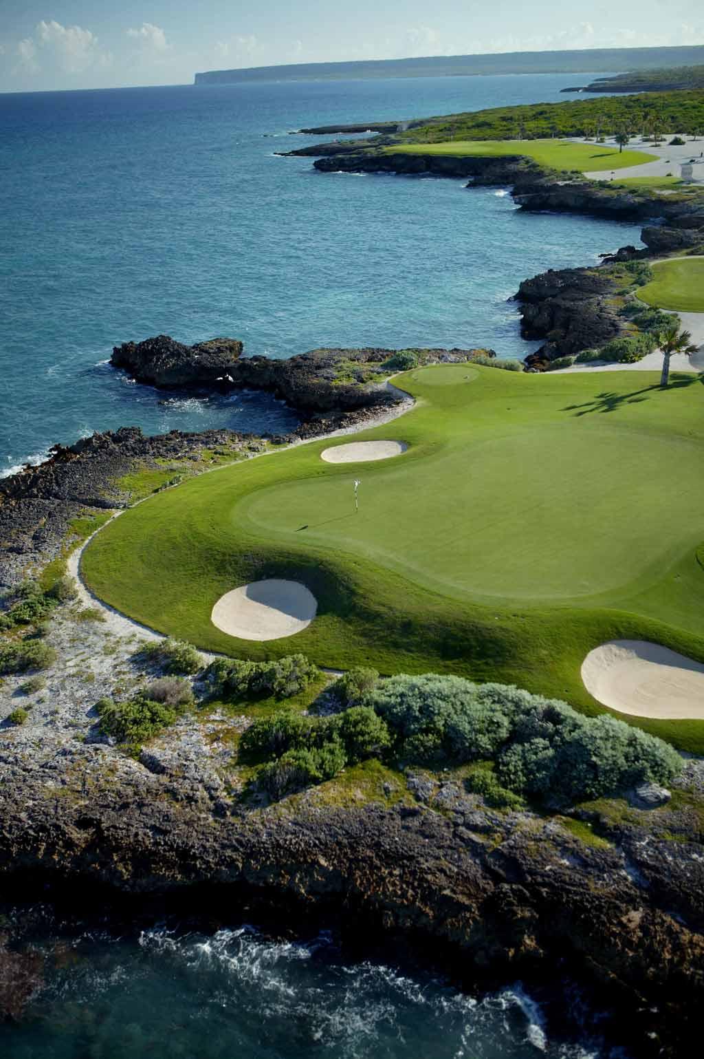 Golf at Eden Roc at Cap Cana, Punta Cana, Dominican Republic