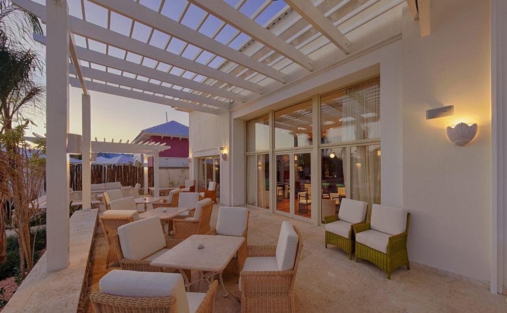 Riva Bar Terrace at Eden Roc at Cap Cana, Punta Cana, Dominican Republic