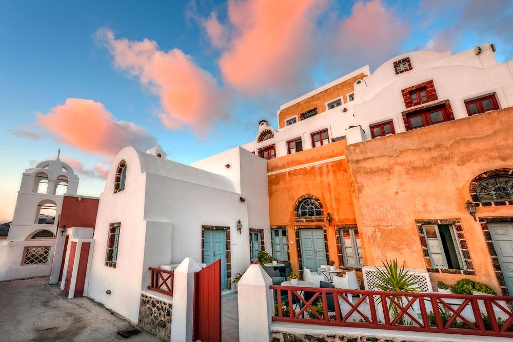 Aigialos Hotel, Santorini, Greece