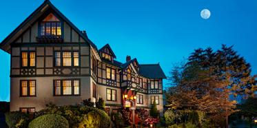 Exterior of Abigails Hotel Victoria, British Columbia, Canada