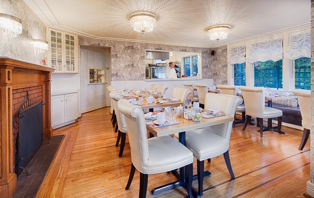 Ambient Dining Room at Abigails Hotel VictoriaBritish ColumbiaCanada