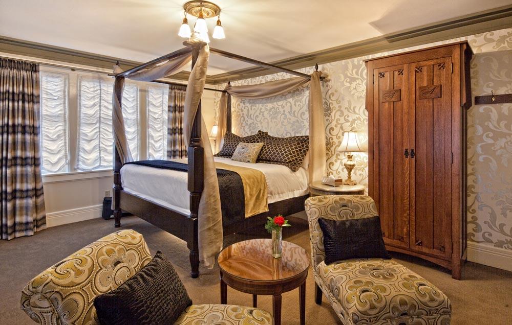 Opal room at Abigails Hotel VictoriaBritish ColumbiaCanada