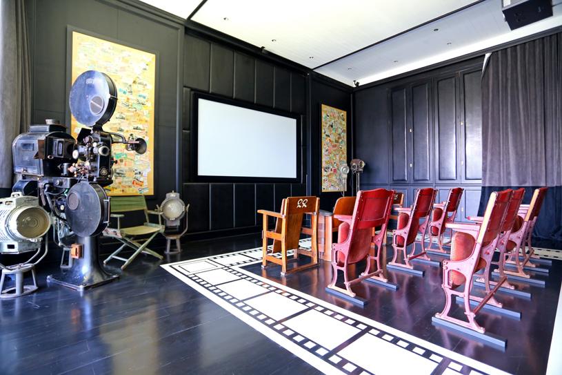 The Siam Hotel Screening Room