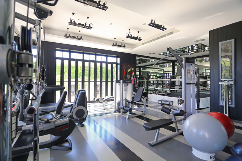 The Siam Hotel Fitness Room