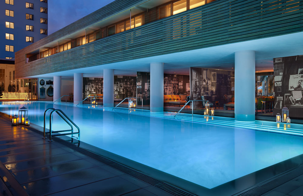 West Pool at SLS Hotel South BeachFL