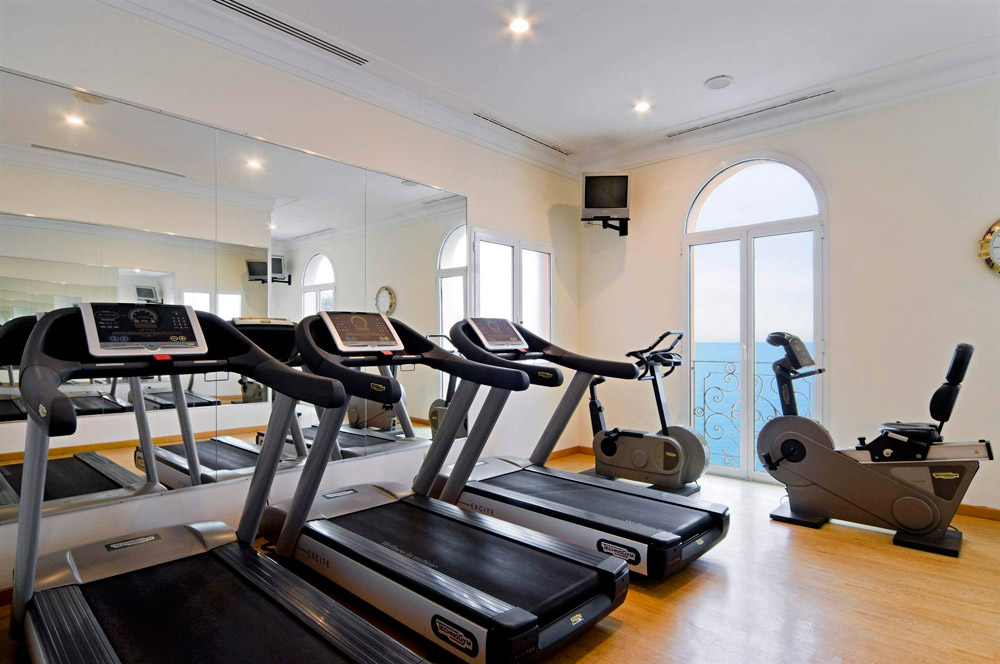 Gym at Excelsior Palace Hotel RapalloItaly