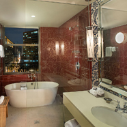 Suite Bath at Hotel Monaco PhiladelphiaPA