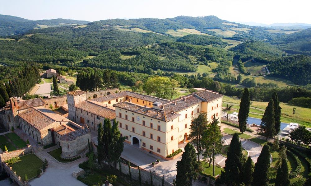 Exterior of Hotel Castello di Casole