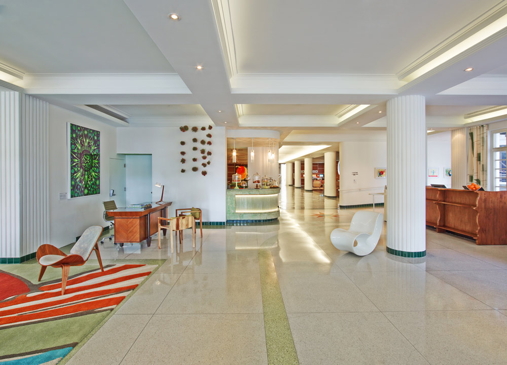 Lobby at Royal Palm South BeachFL