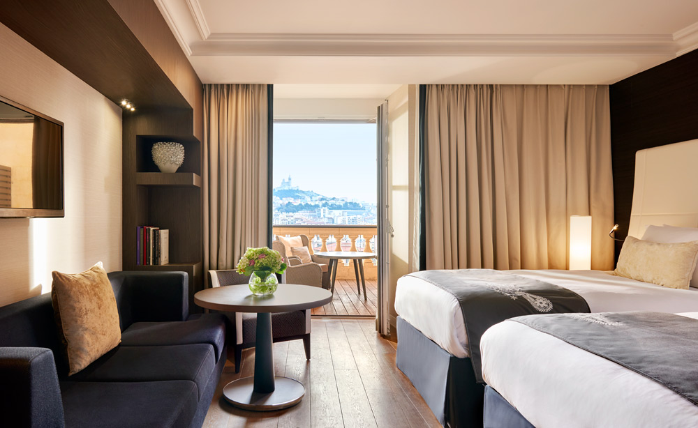 Double Guest Room at InterContinental MarseilleFrance