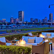 Lounge with Views at Royal Sonesta Hotel BostonCambridgeMA