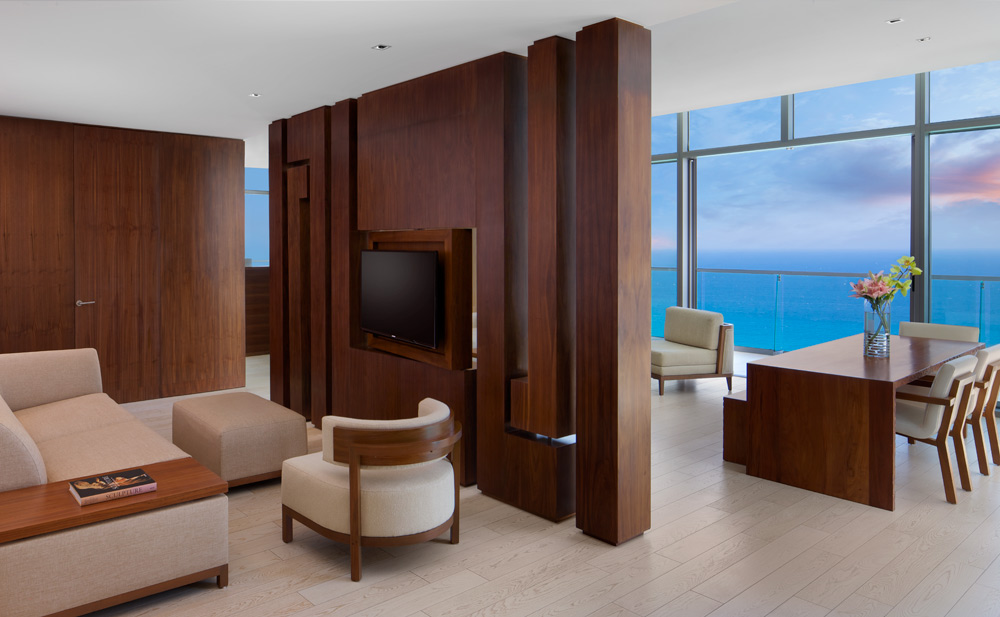 Preferred Club Master Suite Oceanview at Secrets The Vine CancunMexico