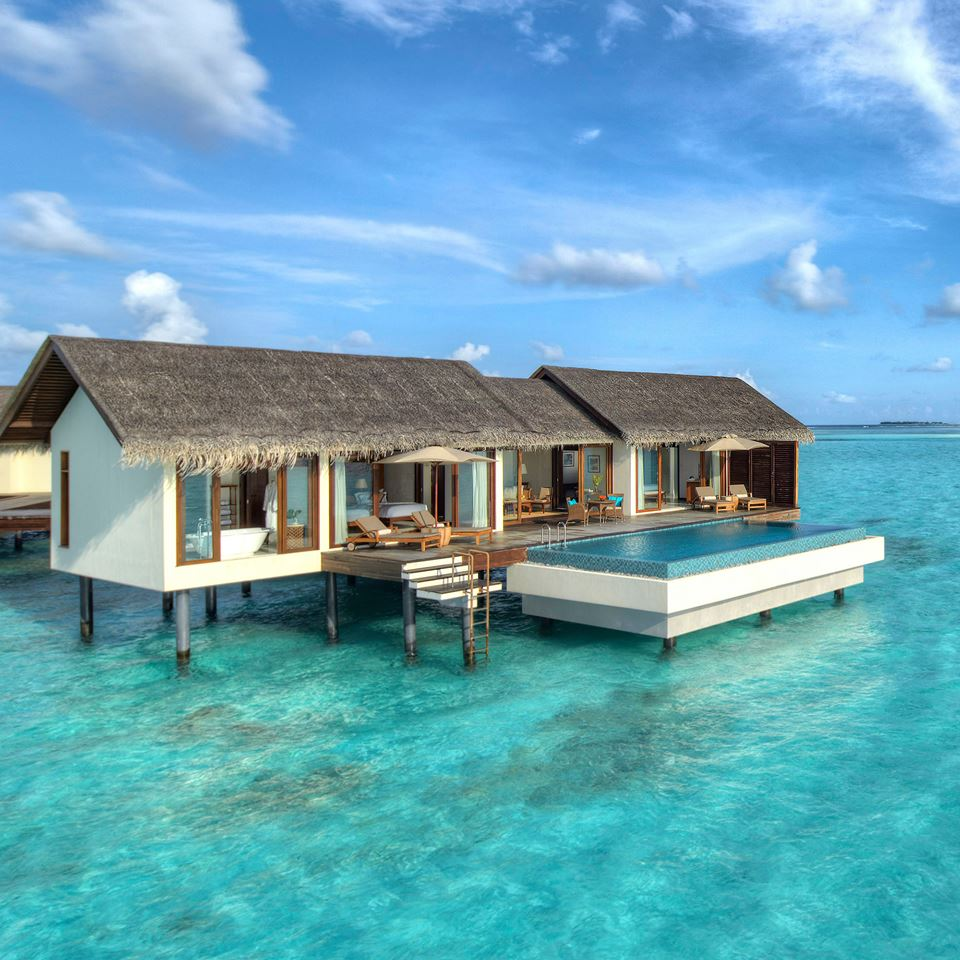 Overwater Bungalow at The Residence Maldives