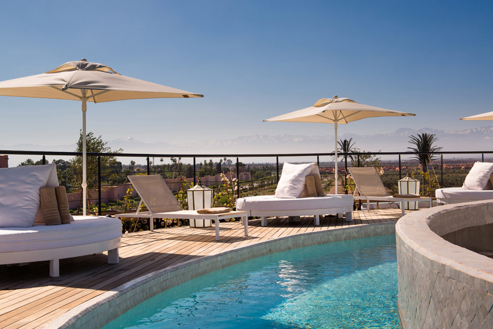 Ground Floor Pool at The Pearl Marrakech, Morocco