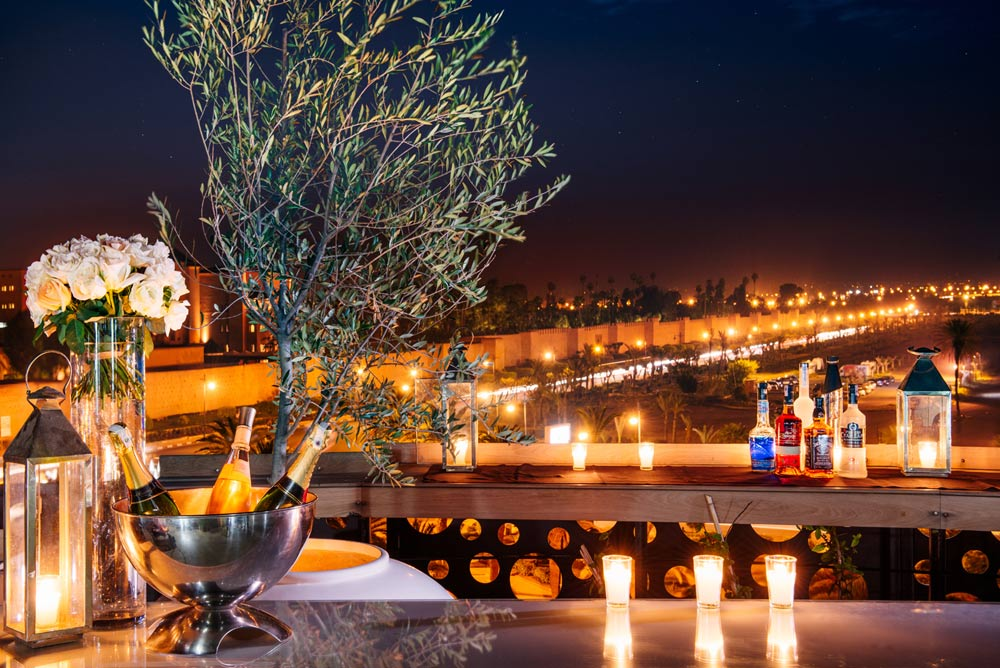 Sky Lounge at The Pearl Marrakech, Morocco
