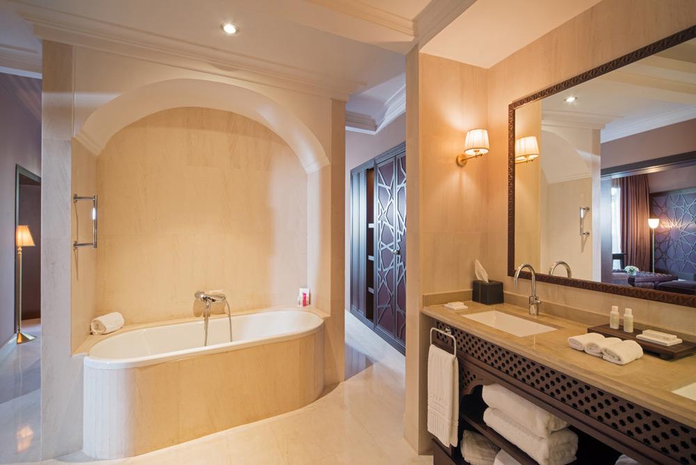 Executive Suite Bath at The Pearl Marrakech, Morocco