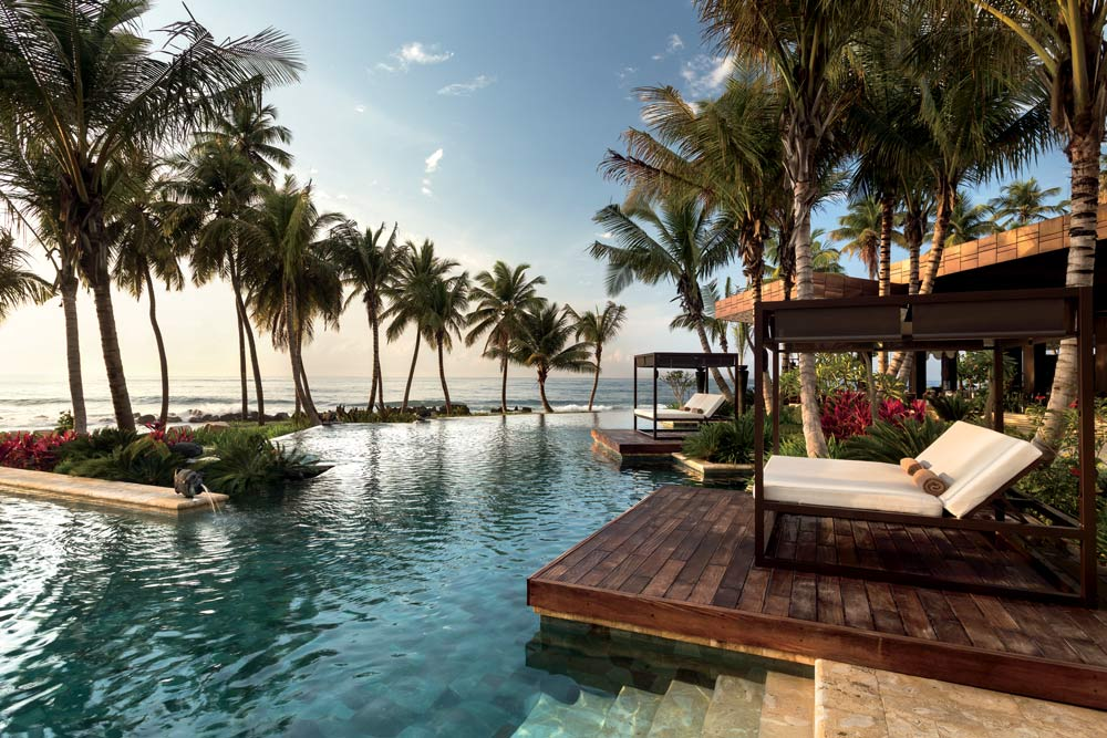 Dorado Beach Oceanfront Pools With Private Cabanas, Puerto Rico