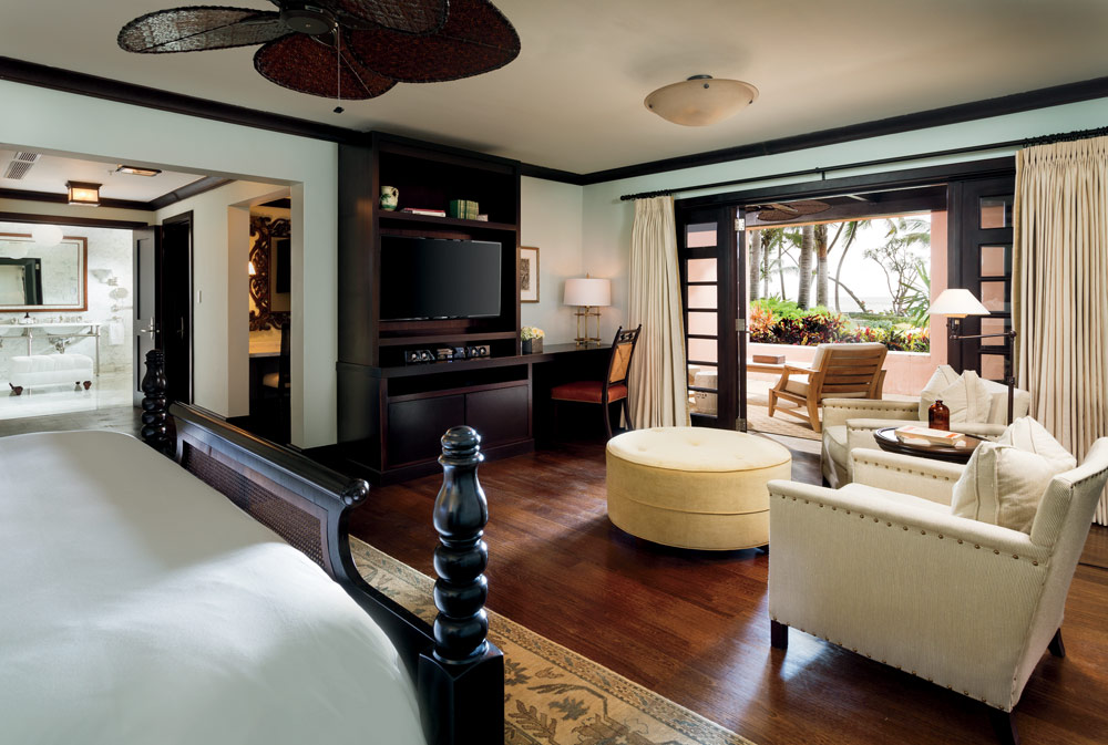 Interior of Su Casaoffering five guest rooms including three king rooms and one double queen all with private baths