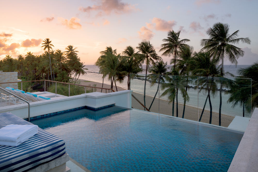 Four Bedroom Penthouse With Private Pool at Dorado Beach, Puerto Rico