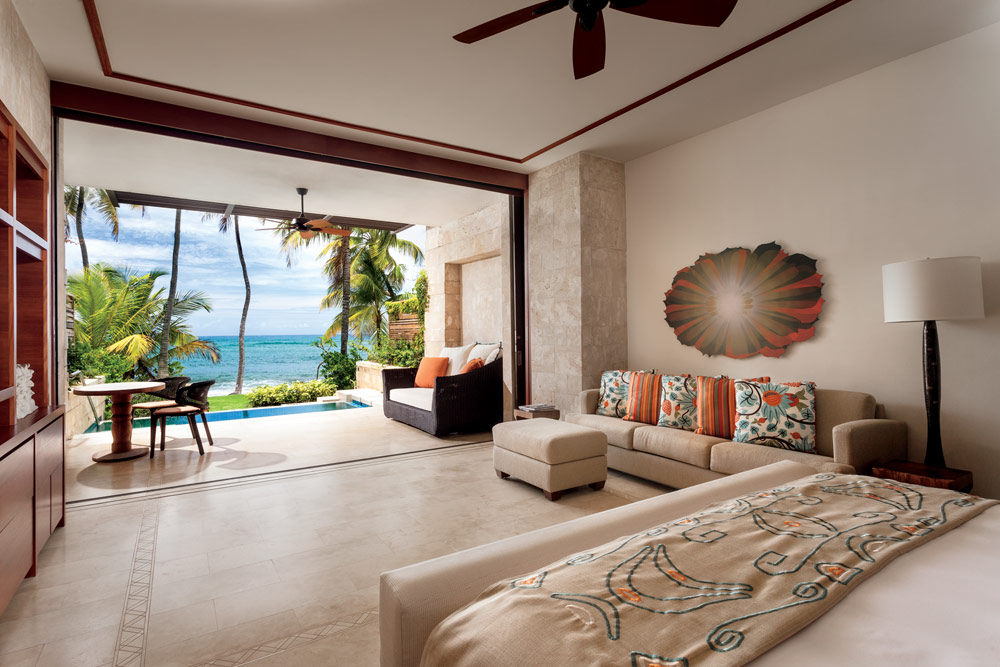 Guest room at the Dorado Beach, a Ritz-Carlton Reserve