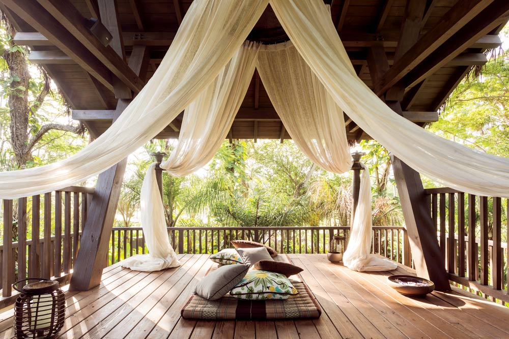 Intimate Tree House Pavilions At Dorado Beach, Puerto Rico