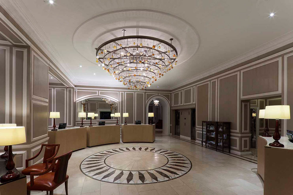 The Waldorf Astoria Caledonian LobbyEdinburghUnited Kingdom