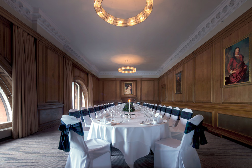 Boardroom Dinner Venue at Waldorf Astoria CaledonianEdinburghUnited Kingdom