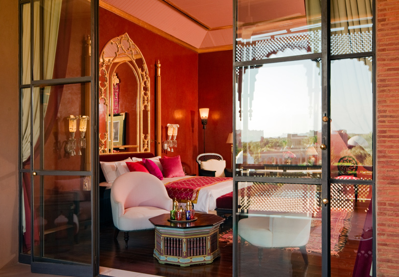 Taj Palace Marrakech Standard Room Veranda View