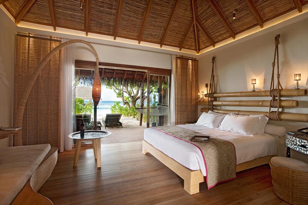Constance Moofushi Resort Beach Villa.