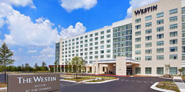 Exterior of The Westin Austin at The Domain