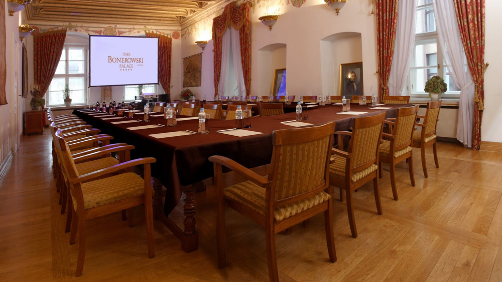 Meeting Room at The Bonerowski PalacePoland