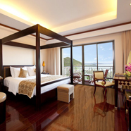 Bedroom at Vinepearl Resort