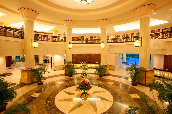 Lobby at Vinepearl Resort