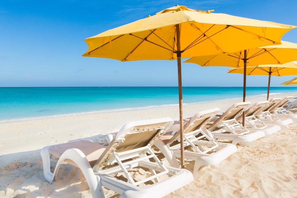 Beach at The Alexandra Resort Turks and Caicos