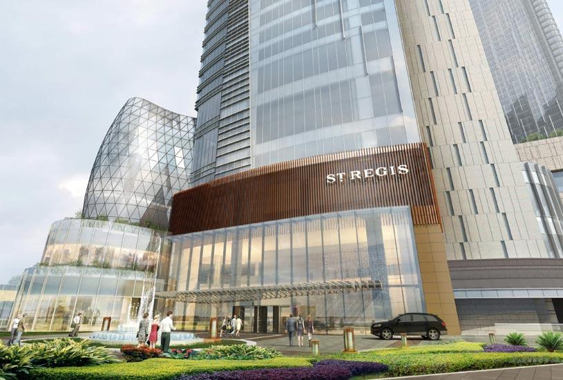 ST Regis Chengdu Hotel Exterior