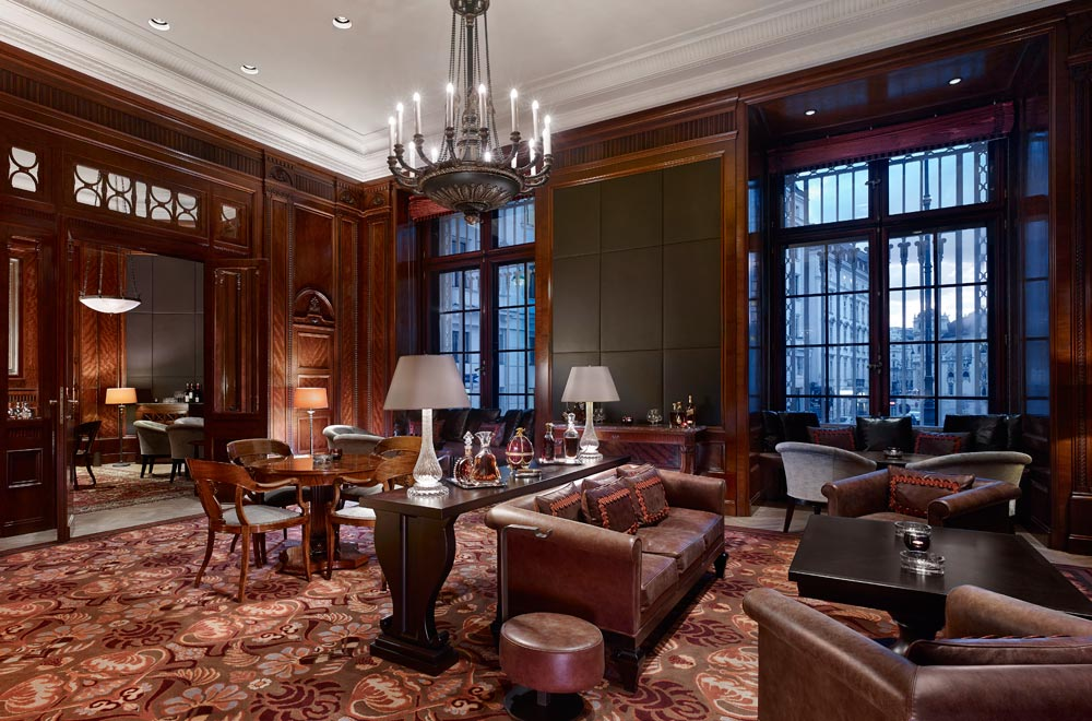 Cigar Lounge at Park Hyatt Vienna