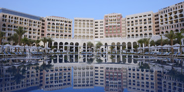 Ritz Carlton Dhabi exterior view