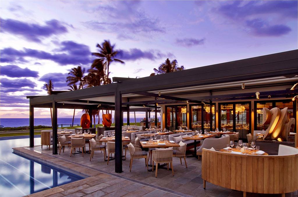 Poolside Dining at Andaz Maui at Wailea, Wailea, Hi