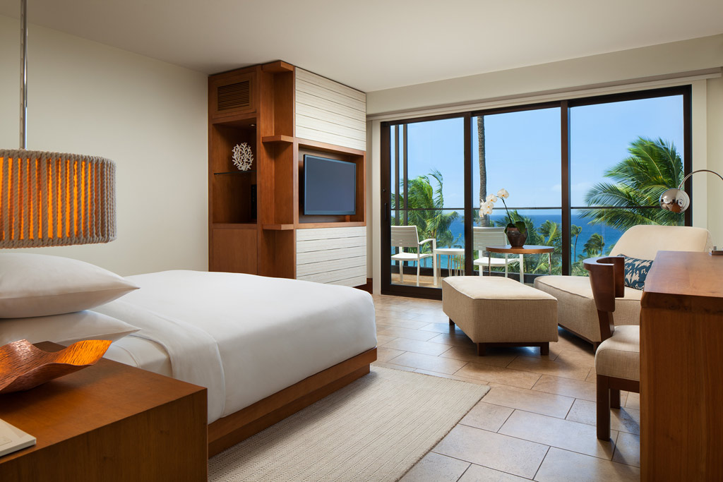 Ocean View King Guest Room at Andaz Maui at Wailea, Wailea, Hi, United States