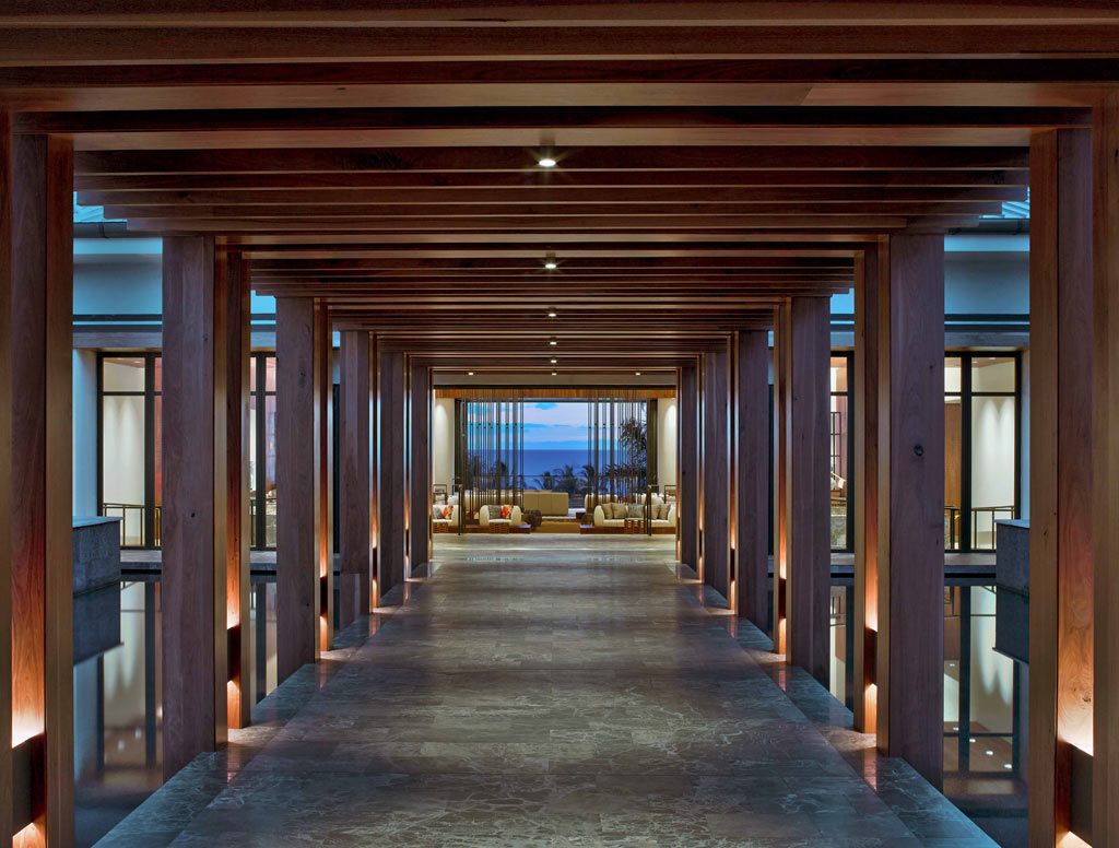 Arrival Bridge at Andaz Maui at Wailea, Wailea, Hi, United States