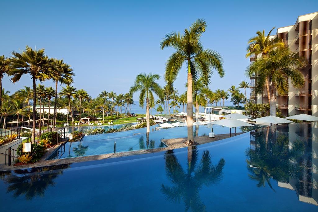 Infinity pools at Andaz Maui at Wailea