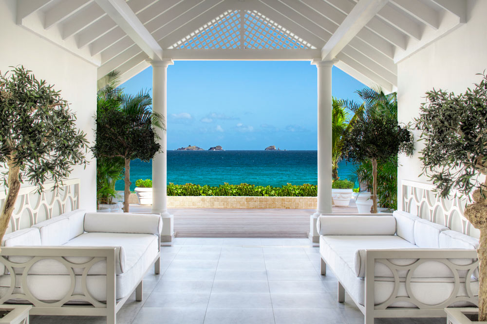 Maison Corridor at Cheval Blanc Saint-Barth, French West Indies