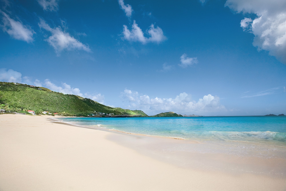 Flamands Beach at Cheval Blanc Saint-Barth, French West Indies