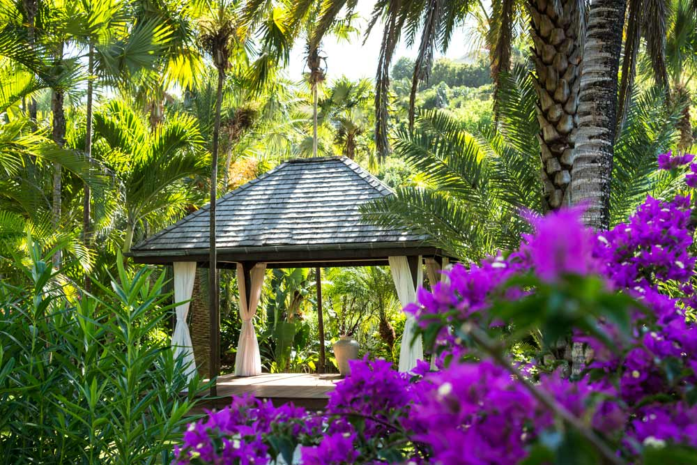 Pavilion in the Garden at Cheval Blanc Saint-Barth, French West Indies