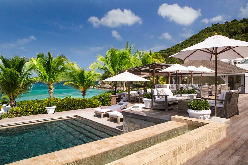 White Bar at Cheval Blanc Saint-Barth, French West Indies
