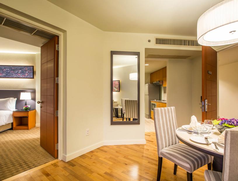 Chatrium Residence Sathon Bangkok Suite