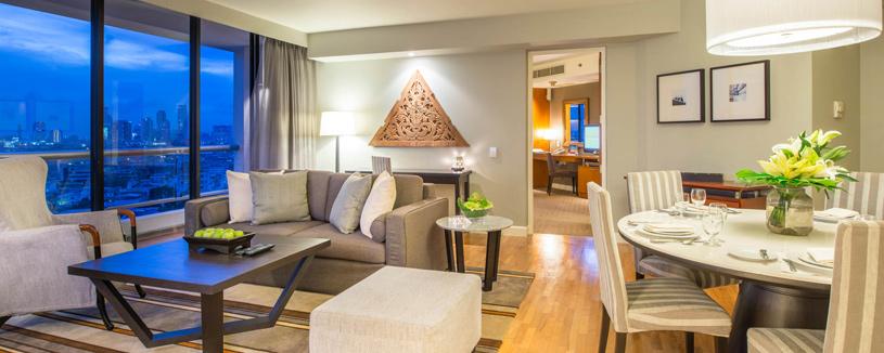 Chatrium Residence Sathon Bangkok Three Bedroom Suite
