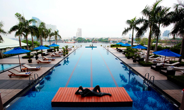 Chatrium Residence Sathon Bangkok Swimming Pool