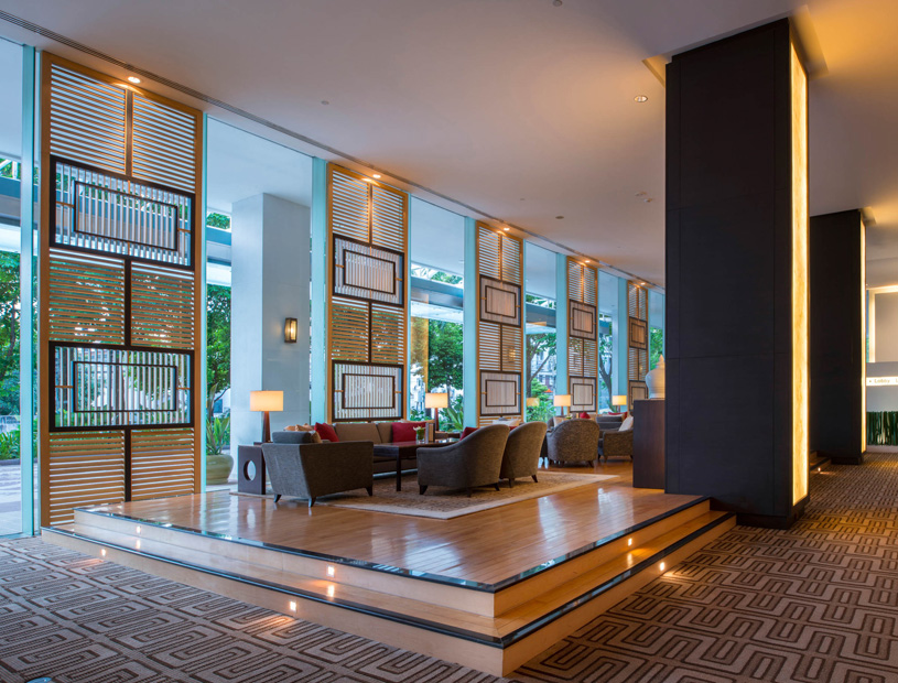 Chatrium Residence Sathon Bangkok Lobby Lounge